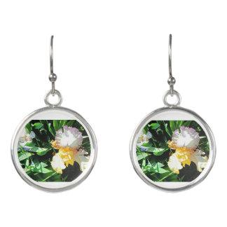 Yellow Iris Earrings