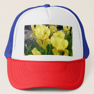 Yellow Iris flowers Trucker Hat