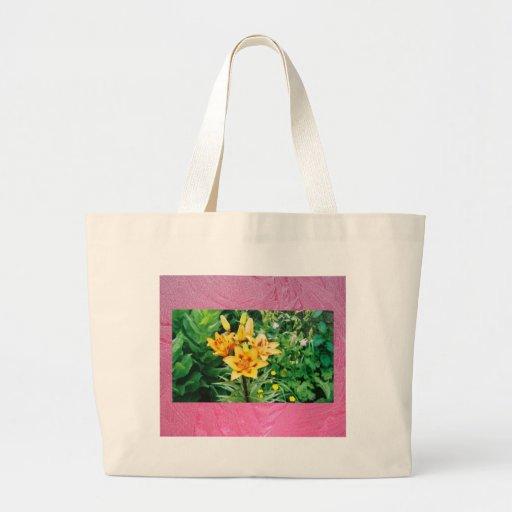 Yellow Iris - Ice Red Bag