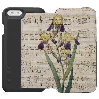yellow iris music incipio watson™ iPhone 6 wallet case