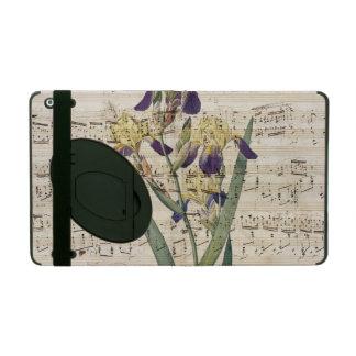 yellow iris music iPad cover