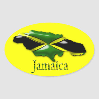 Yellow Jamaica Sticker