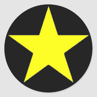 Yellow Jammer Star Sticker