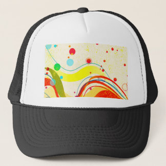 Yellow Jazz Poster Trucker Hat
