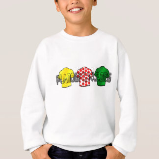 Yellow Jersey Green Jersey King of the mountains Sweatshirt