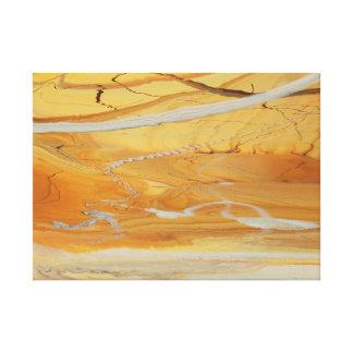 Yellow Jungle Canvas Print