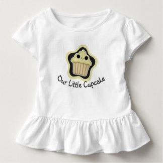 Yellow Kawaii Cupcake Toddler Shirt