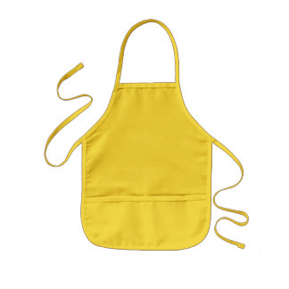 Yellow Kids Apron