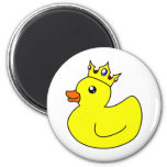 Yellow King Rubber Duck