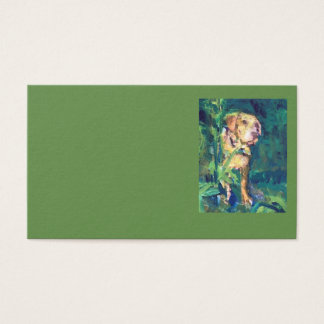 Yellow Lab Creek Painting Business Cards
