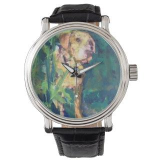 Yellow Lab Creek Painting Watch