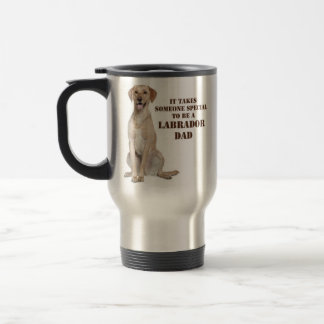 Yellow Lab Dad Travel Mug