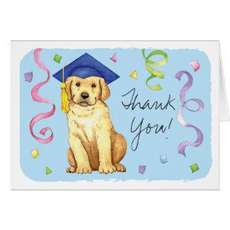 Yellow Lab Graduate Card