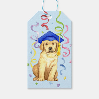 Yellow Lab Graduate Gift Tags