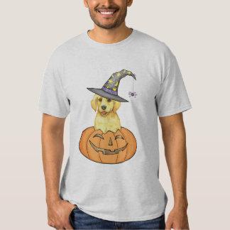 Yellow Lab Halloween Shirts