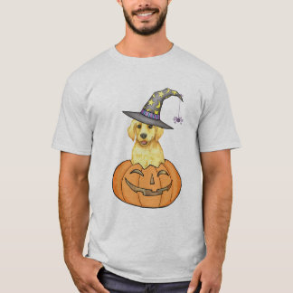 Yellow Lab Halloween T-Shirt