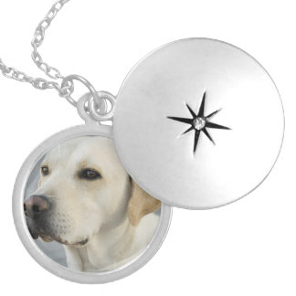 Yellow Lab Locket