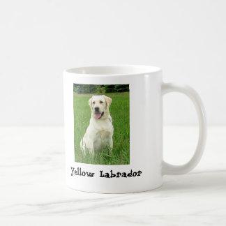 Yellow Lab Basic White Mug