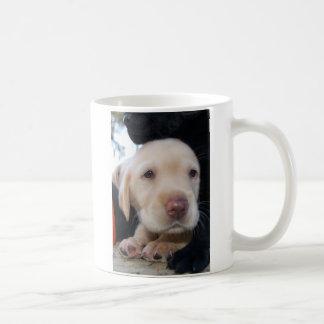 Yellow Lab Puppy Basic White Mug
