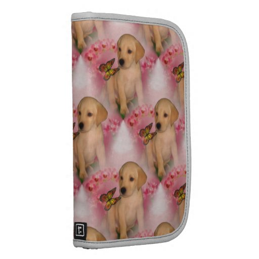 Yellow Lab Puppy Butterfly Animal Pattern Planner