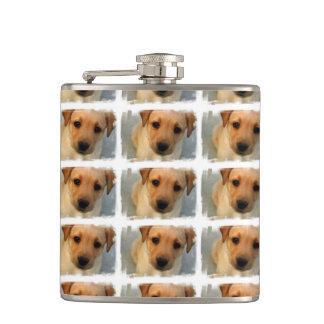 Yellow Lab Puppy Flasks