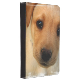 Yellow Lab Puppy Kindle Case