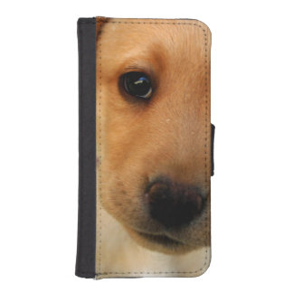 Yellow Lab Puppy Phone Wallets