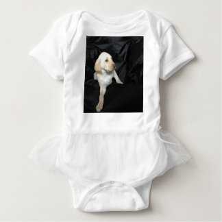 Yellow Lab Puppy Sadie Baby Bodysuit
