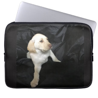 Yellow Lab Puppy Sadie Computer Sleeves