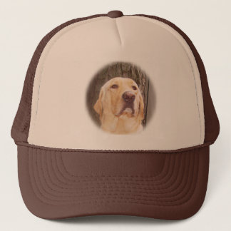 Yellow Lab Trucker Hat