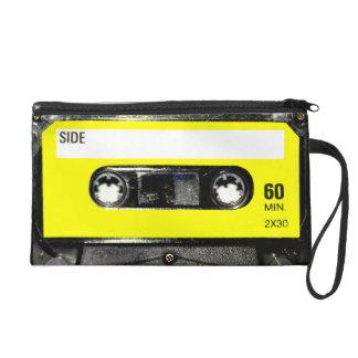 Yellow Label Cassette Wristlet Clutches