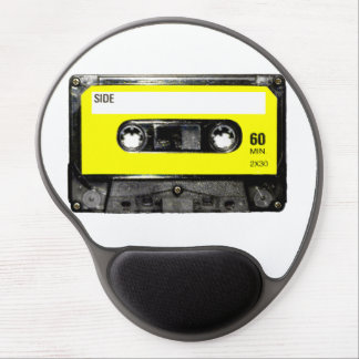 Yellow Label Cassette Gel Mouse Pad