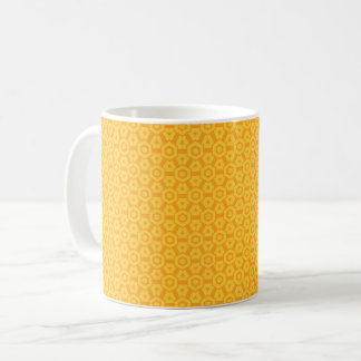 Yellow label magnetic cup