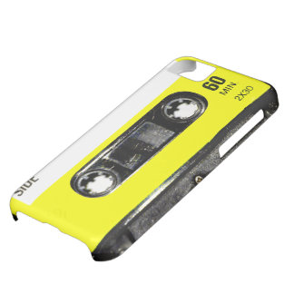 Yellow Label Vintage Cassette iPhone 5C Cover