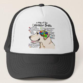 Yellow Labrador Brain Atlas Trucker Hat