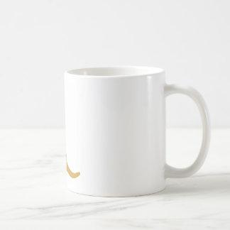 Yellow Labrador / Camo Bandana Basic White Mug