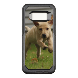 Yellow Labrador Puppies Running OtterBox Commuter Samsung Galaxy S8 Case