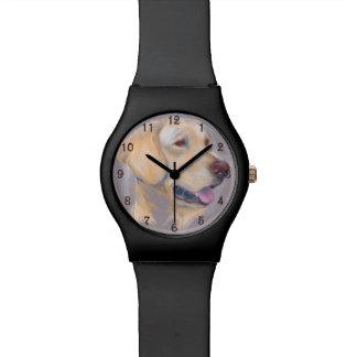 Yellow Labrador Retriever Portrait Watch