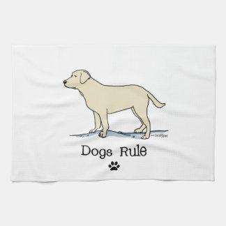 Yellow Labrador Retriever Tea Towel
