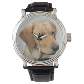 Yellow Labrador Retriever Wristwatches
