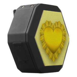 Yellow Lace Heart Customizable