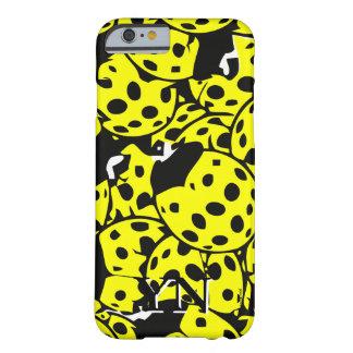 Yellow Ladybug Barely There iPhone 6 Case