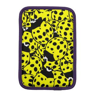 Yellow Ladybug iPad Mini Sleeve