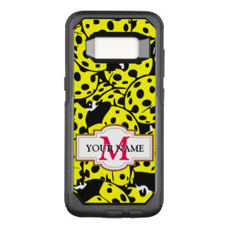 Yellow Ladybug OtterBox Commuter Samsung Galaxy S8 Case