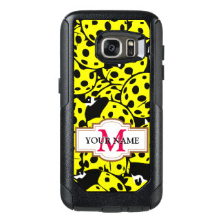 Yellow Ladybug OtterBox Samsung Galaxy S7 Case