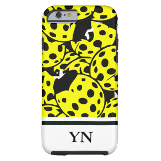 Yellow Ladybug Tough iPhone 6 Case