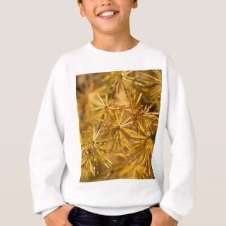 Yellow larch needles (Larix decidua) Sweatshirt