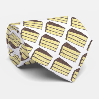 Yellow Layer Cake Slice Dessert Foodie Food Tie