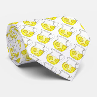 Yellow Lemon Citrus Make Lemonade Lemons Tie
