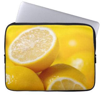Yellow Lemons Laptop Sleeve